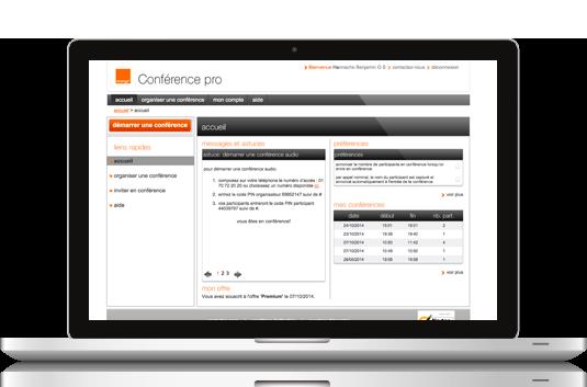 Orange professional conference
