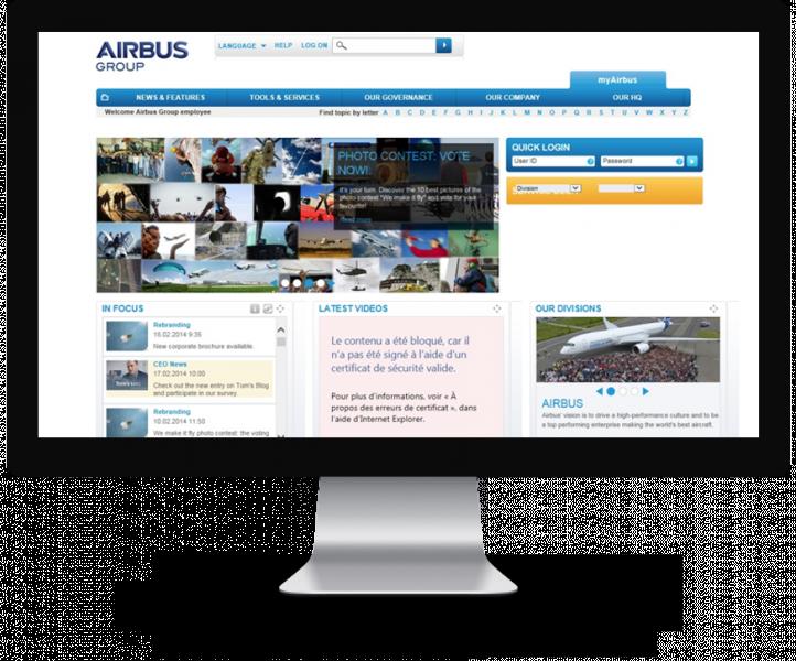 Site d'Airbus
